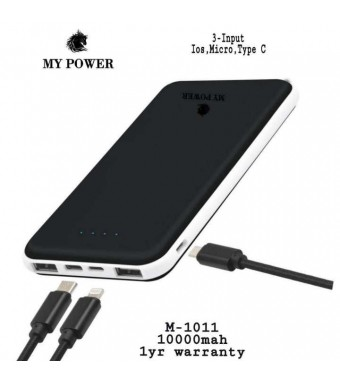 MY POWER 10000mah M1011  Powerbank
